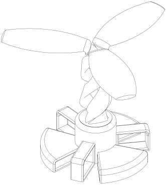 Modelaje Solid Works, proyecto árbol solar_1
