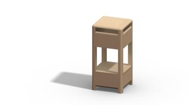 Modelaje Solid Works, proyecto muebles de hostelería_1